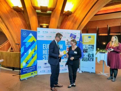 Europese onderscheiding voor Sinti en Roma-project