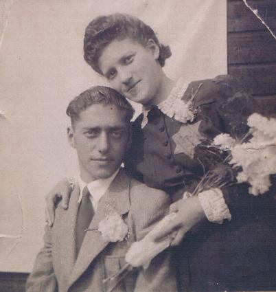 Huwelijk in kamp Westerbork