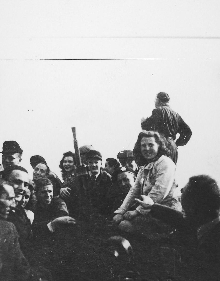 Kamp Westerbork bevrijd